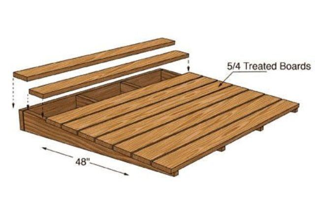 How Do You Make a Ramp for a Shed?