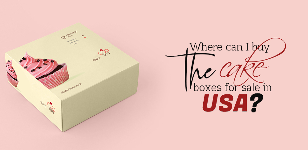 Where Can I Buy the Cake Boxes for Sale in USA?